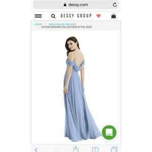 2639456e4fc Dessy Collection Dresses - Dessy Bridesmaid Dress Style 4525 Cloudy